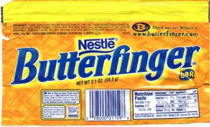 Corn flakes are usually served with milk (cold; sometimes ...  |Butterfinger Slogan