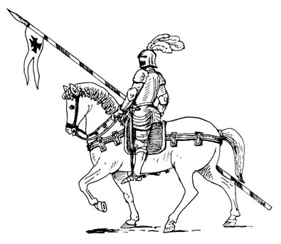 Medieval Knight On Horse Drawing Drawings of knights on horses