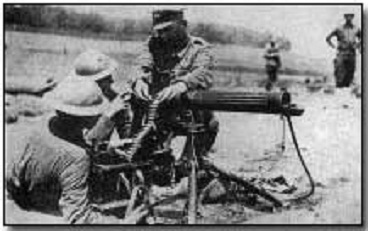 why the gatling gun is an invention of great importance to the science of warfare Because, machine guns have a high rate of fire you can shoot multiple times without reloading, more ammunition, so you don't have to reload often and some have very good range, for ex: the m16.