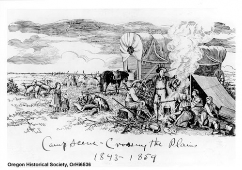 importance of oregon trail An author retraces the oregon trail in a covered wagon and learns about mules  and the importance of seeing america in slow-mo.