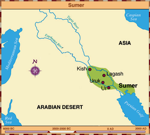 "an analysis of the civilization of sumer in ancient mesopotamia Ancient mesopotamia ""the fertile crescent"" ""land between two rivers"" ""cradle of civilization sumerians they lived in southern mesopotamia in a number of."