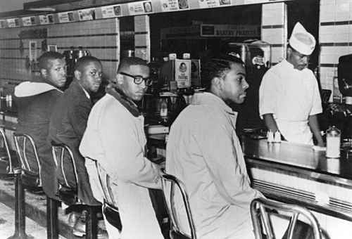 treatment of blacks in 1960s Because of their skin color and a law called the jim crow laws, blacks were told they were inferior to the whites in all ways, including intelligence.
