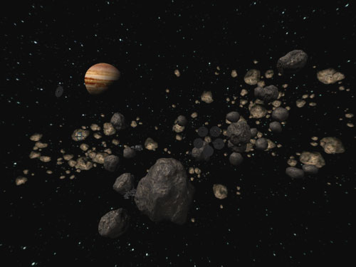 the diameter of asteroid belt - photo #26