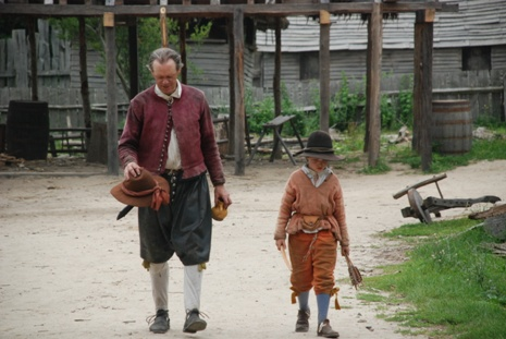 what type of clothes did pilgrim children wear