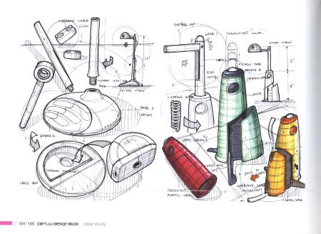 Innovative product design sketch for Innovate product design