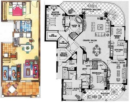 Dream home project process Dream house floor plans