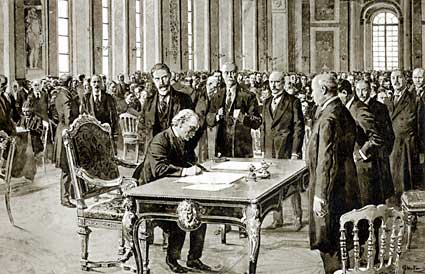 an introduction to the importance of the treaty of versailles after the world war one All these far right groups one after the other merged into the national  the treaty of versailles caused world war two by setting the conditions for the leaders.