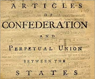 an introduction to the articles of confederation in the constitution of the united states of america Read this essay on the writing of the united states constitution  the articles of confederation  constitution of the united states of america.