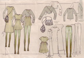 Clothing Design Process The next process in your