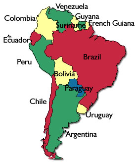 spanish speaking countries in