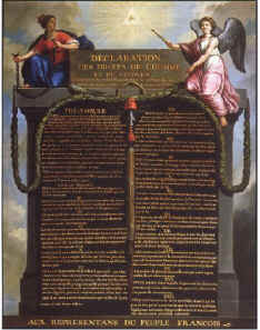 an introduction to the declaration of the rights of man and the citizen in 1789 These rights are familiar from historic bills of rights such as the french  declaration of the rights of man and the citizen (1789) and the us bill.