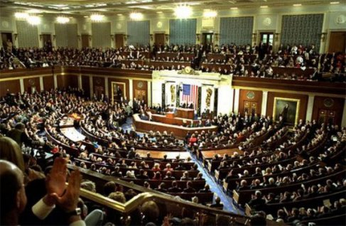 The U.S. House of Representatives in Session