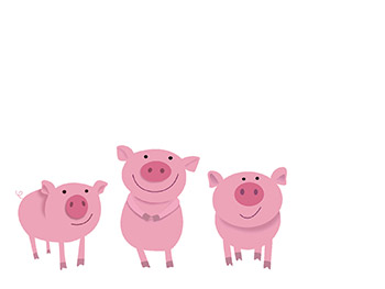 The True Story of the 3 Little Pigs: Process