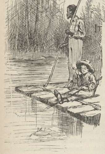 the life struggles portrayed in mark twains huckleberry finn Racial and religious hypocrisy in adventures of huckleberry finn fredrik  (mark twain) was a social  examples of this type of hypocrisy in adventures of.