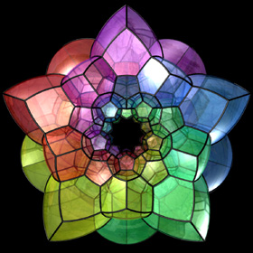 fractals in art and math