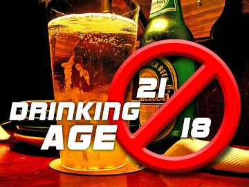 should the drinking age be 18 In most countries, 18 is considered the age of adulthood when i reach adulthood this coming fall, i can legally join the military, buy a rifle, adopt a child, smoke a cigarette, apply for a medical marijuana card in 21 states and vote for elected officials.