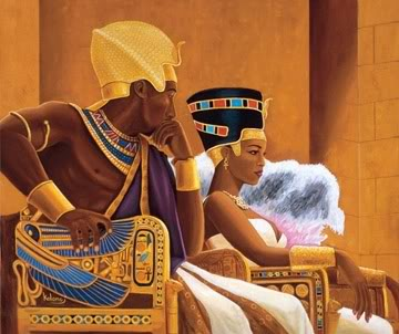 pharaoh kings and queens