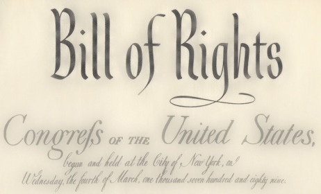 Essay interpreting the bill of rights