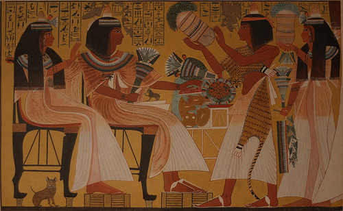 egyptian life This section describes what the life of the average egyptian was like.